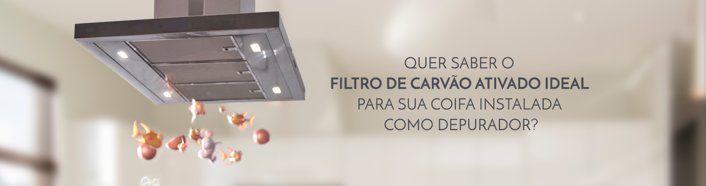 Banner Filtro de carvão ideal