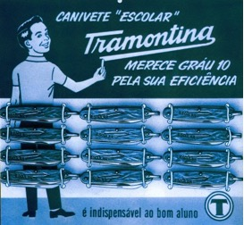The 50s mark the beginning of Tramontina's communication actions with the circulation of its first advertisement on local newspapers.