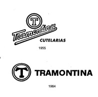 A single brand policy is established for all Tramontina products. Until then, the logo had featured a handwritten font, which was not easy to reproduce. From 1964 on, a stylized T was adopted for the visual identity, combined with capital letters for easier and simpler reading.