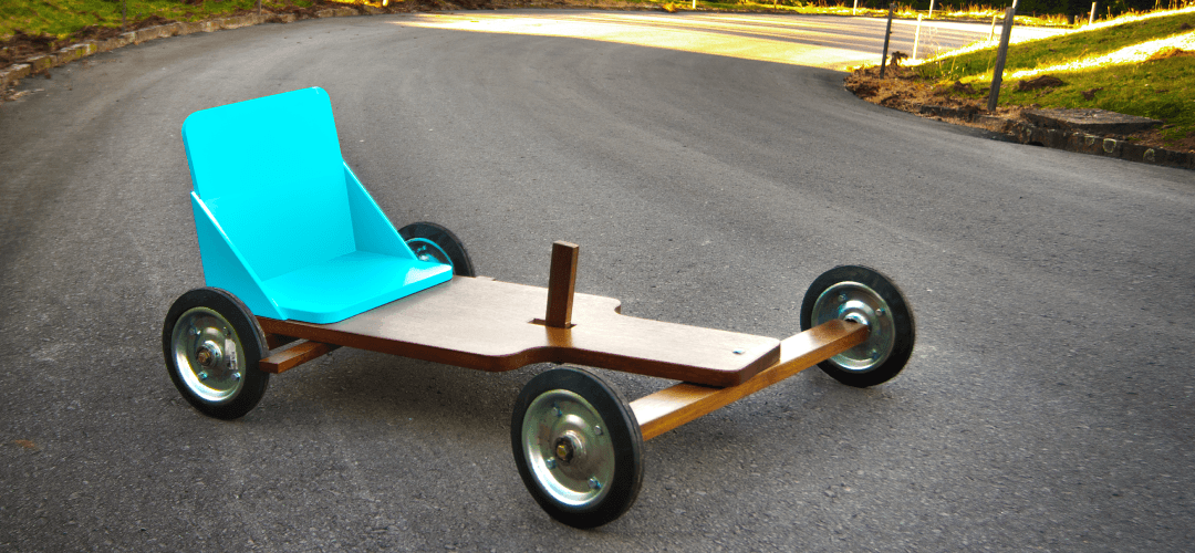 Build your own wooden go-kart