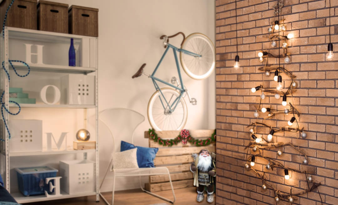 Have little space but want a Christmas tree?