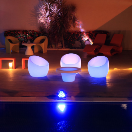 Light and modernity in decoration