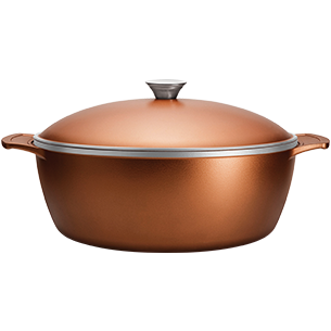 Aluminum with Internal Nonstick Coating Casserole Ø30cm